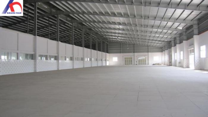 Cho thuê xưởng MT Bình Hòa, TX. Thuận An, BD, DTKV: 1.700m2.