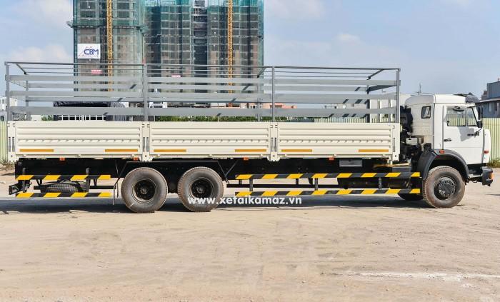 Xe Tải Thùng Kamaz 53229 (6X4) Long II, lòng thùng dài 9m1-9m3