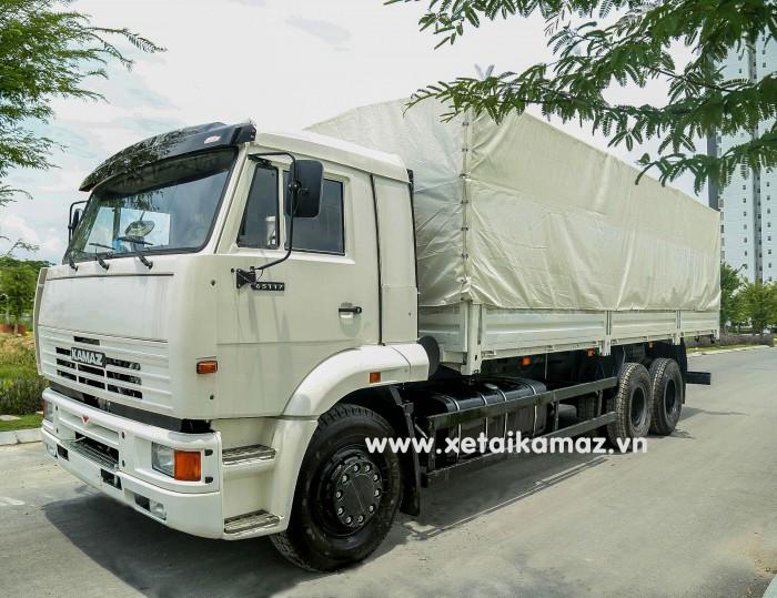 Xe Tải Thùng Kamaz 65117 (6X4) Long I, thùng dài 7m8