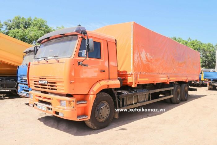 Xe Tải Thùng Kamaz 65117 (6X4) Long Ii, thùng dài 9m3