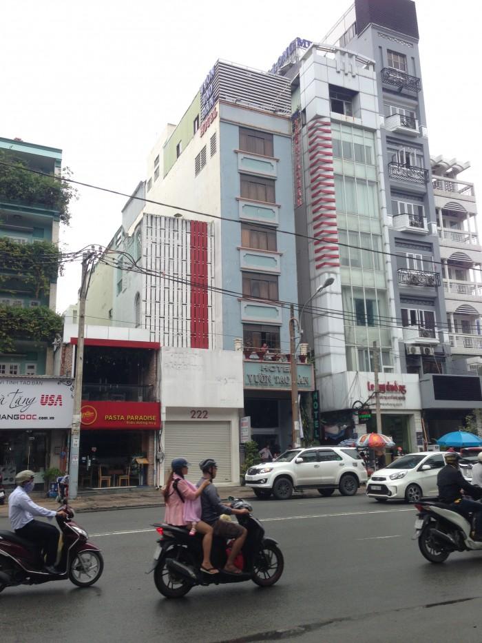 Nhà MT Nguyễn Thái Bình, Q1, 1 trệt, 4 Lầu+TM, DT:4x20
