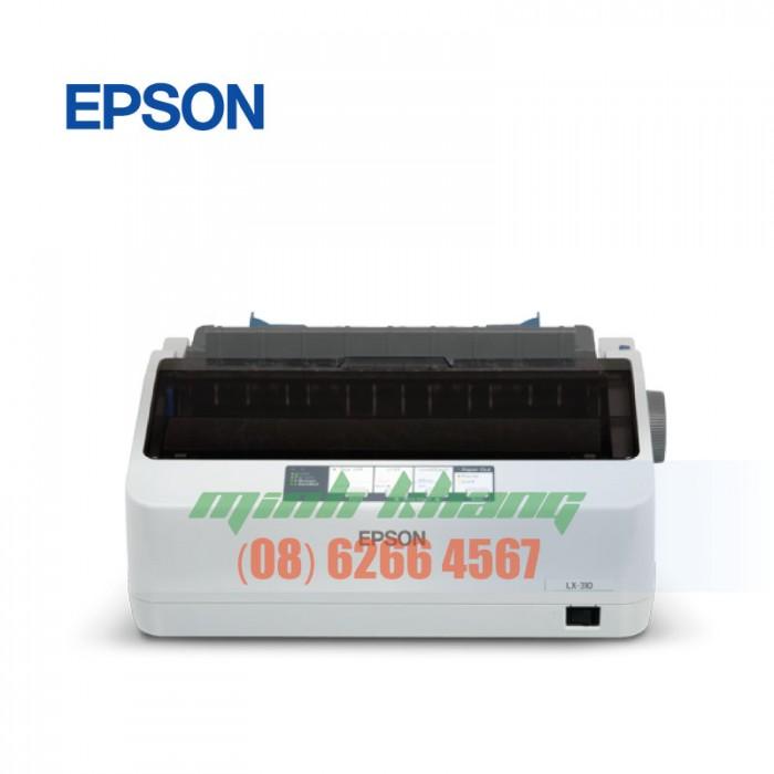 Máy in hóa đơn 3 liên, máy in kim Epson LQ 310 giá rẻ hcm | minh khang jsc