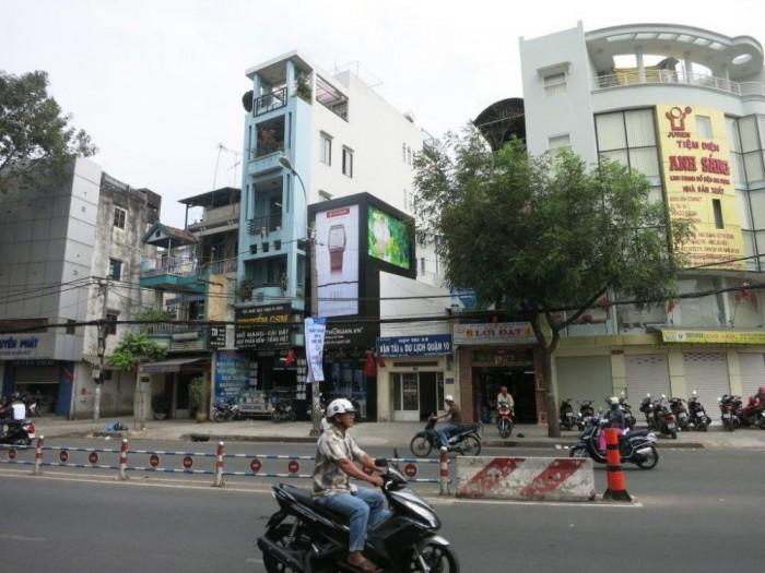 Bán Tòa nhà đường 3 tháng 2, Q.10, DT: 7.5 x 17m, 8 lầu thang máy