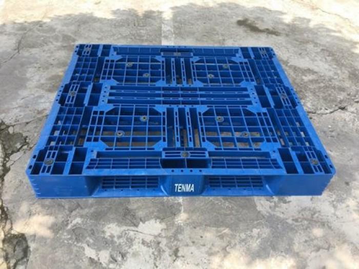 Pallet nhựa cũ 1200x1000x150 mm2