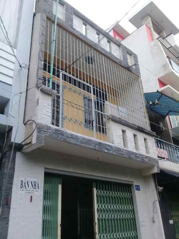 Chuyển công tác bán Gấp nhà Trần Văn Đang, Q.3. DT 4.2x9.2m. 2 Tầng