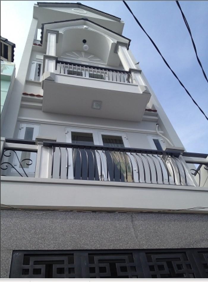 Con du học cần bán Biệt Thự Hoàng Văn Thụ. P.9. Q.PN. CN 202m2. 3.5 tầng