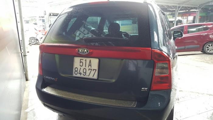 Bán Kia Carens bản S 2.0MT số sàn sản xuất 2014 biển SG màu xám xanh