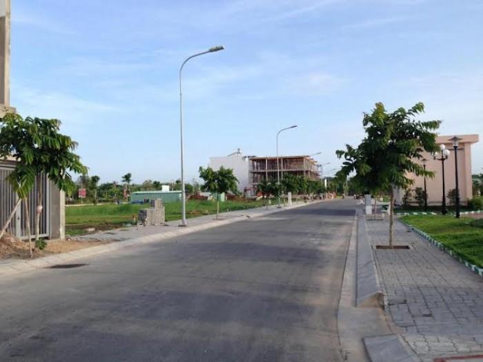 Đất nền đường Tân Thuận Tây, dt: 90m2, có sổ hồng thửa đất