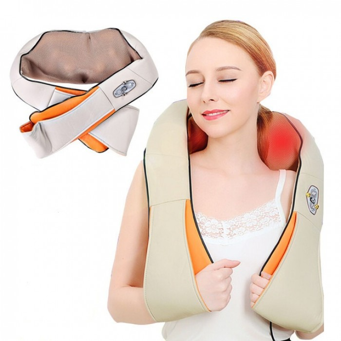 Đai đeo massage giảm đau vai gáy,máy massage vai gáy chính hãng