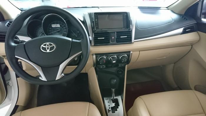 Toyota Vios E 2017 số tự động, tặng 100% phí trước bạ + phụ kiện chính hãng