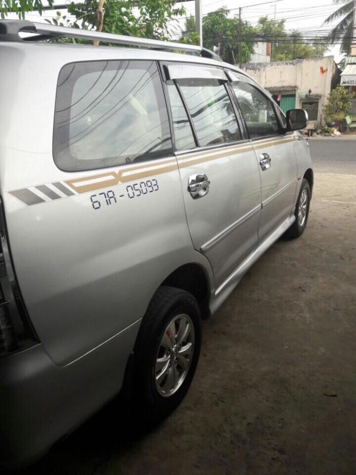 Toyota Innova J sản xuất năm 2008 Số tay (số sàn) Động cơ Xăng