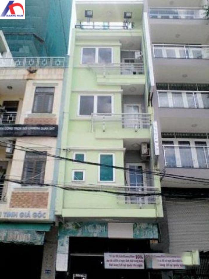 Cho thuê nhà MT Nguyễn Sơn Hà, Q.3, DT: 3.5x17m, trệt, 3 lầu.