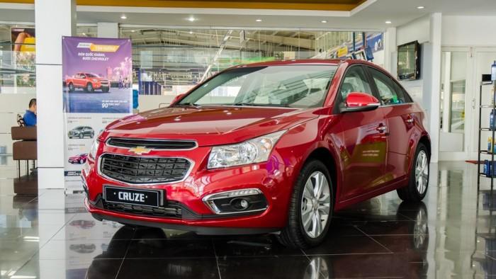 Chevrolet Cruze - Chỉ với 100tr có ngay xe chạy , bao hồ sơ , vay đến 95%