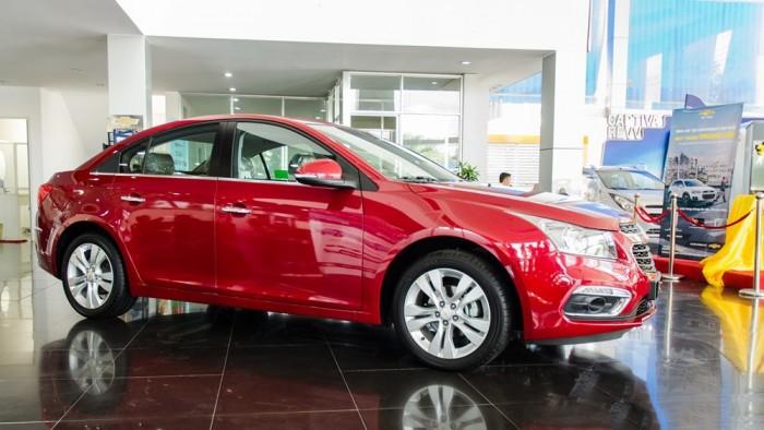 Chevrolet Cruze - Chỉ với 100tr có ngay xe chạy , bao hồ sơ , vay đến 95% 1