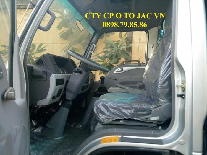 Xe tải jac 1t25 lưu thông thành phố dễ dàng
