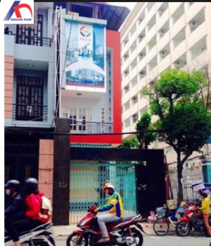 Cho thuê nhà MT Tô Ngọc Vân, Q.TĐ, DT: 5x18m, trệt, 2 lầu.