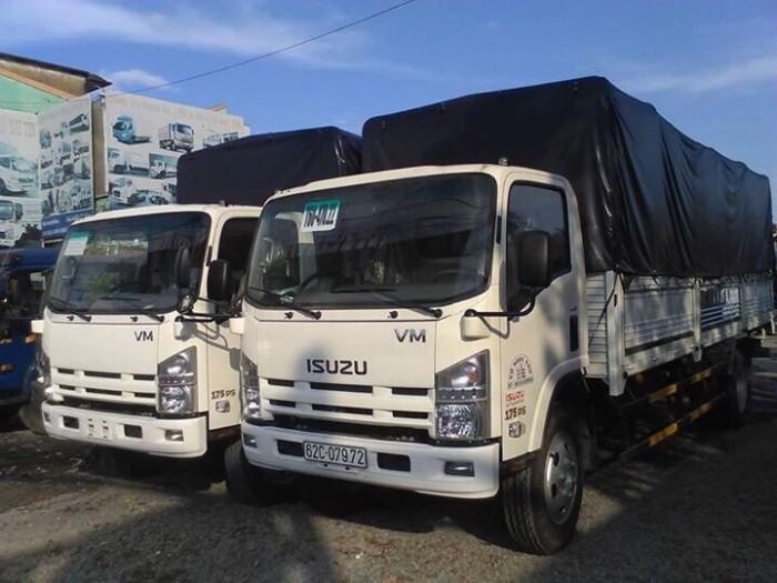 Xe tải ISUZU VM 3 tấn rưỡi/ 3500kg/ 3 tấn 5 thùng mui bạt / bán xe tải ISUZU 3t5/