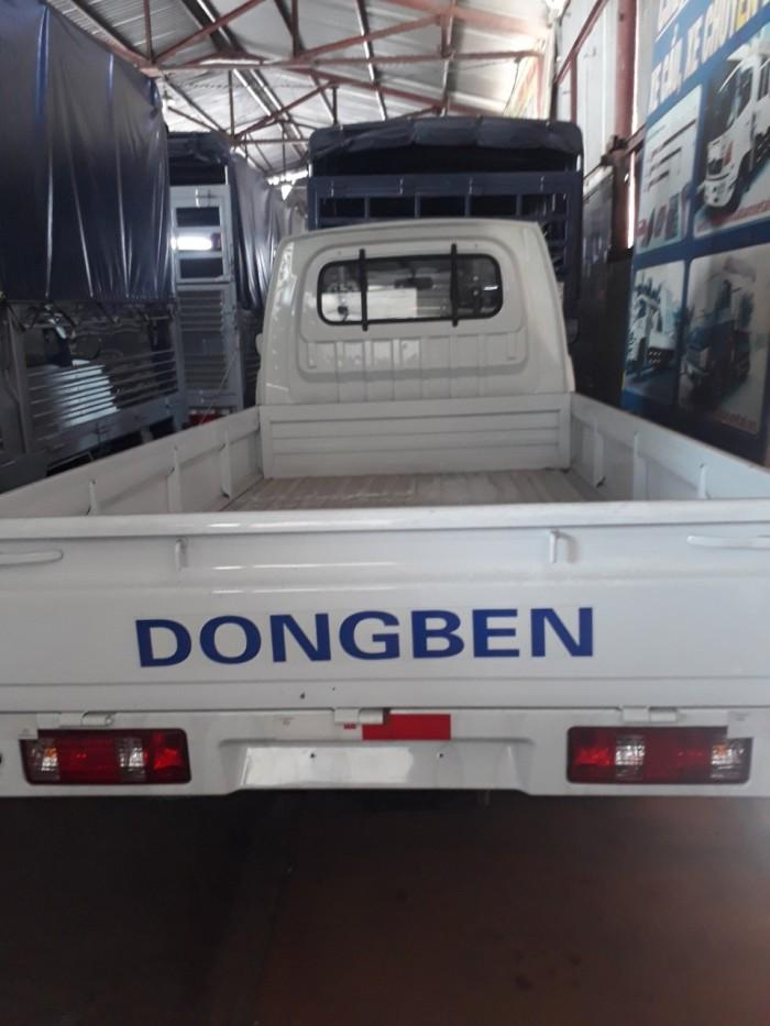 Xe Tải Dong Ben Thùng Lững 870kg Mới 0