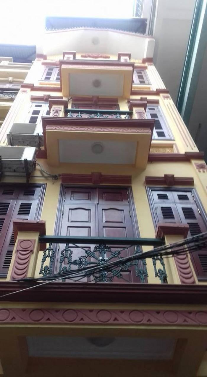 Bán nhà mặt chợ, Thanh Xuân, kinh doanh 75m Mặt tiền 5.2m