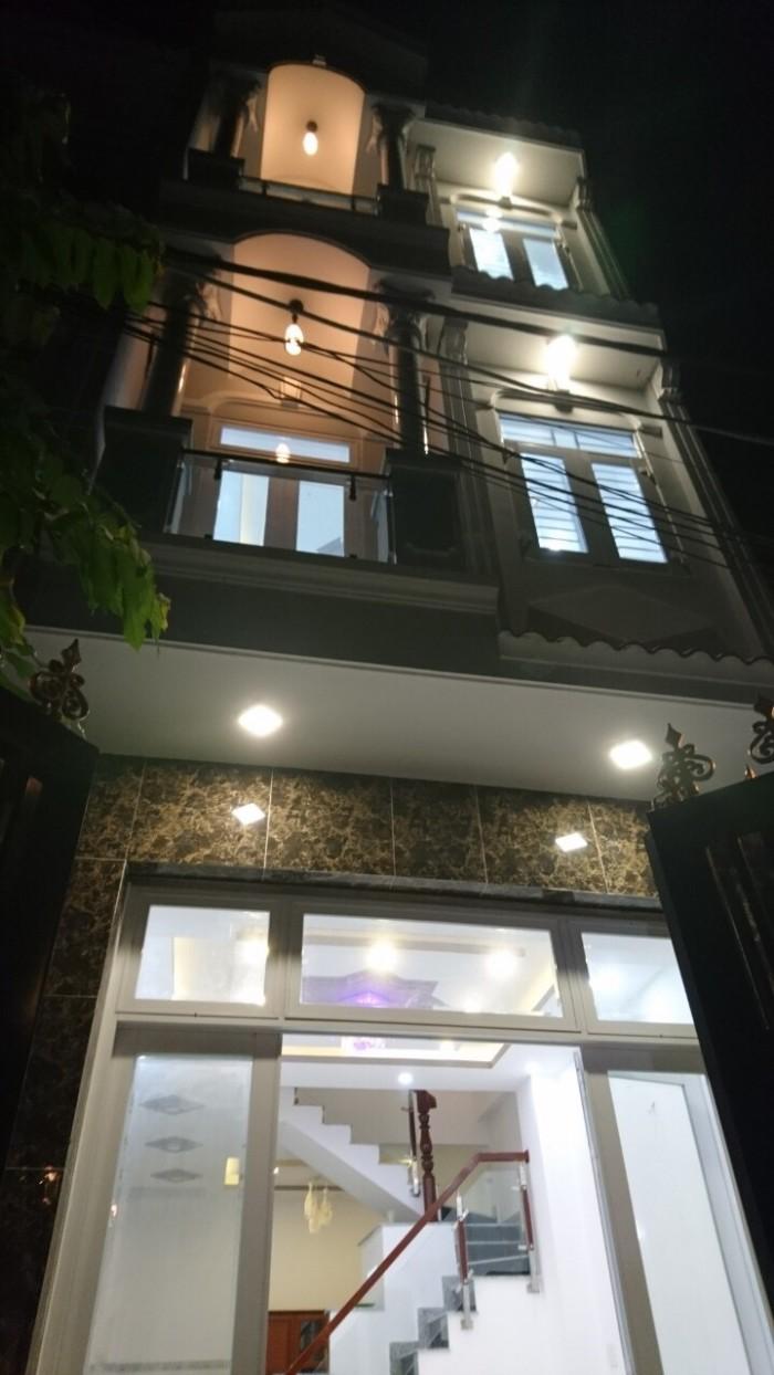 Bán nhà sổ hồng riêng hẻm 2174/2/15A Huỳnh Tấn Phát, Nhà Bè