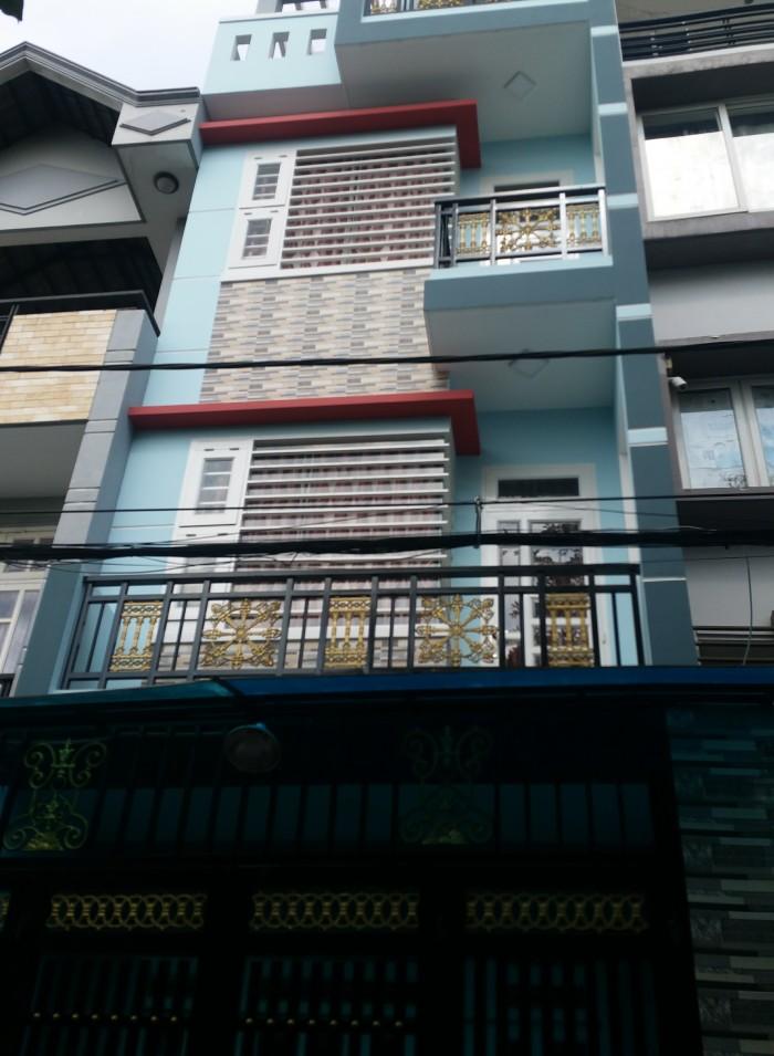 Nhà 1731  Tỉnh Lộ 10 Bình Tân đúc 2 lầu dt 4x8