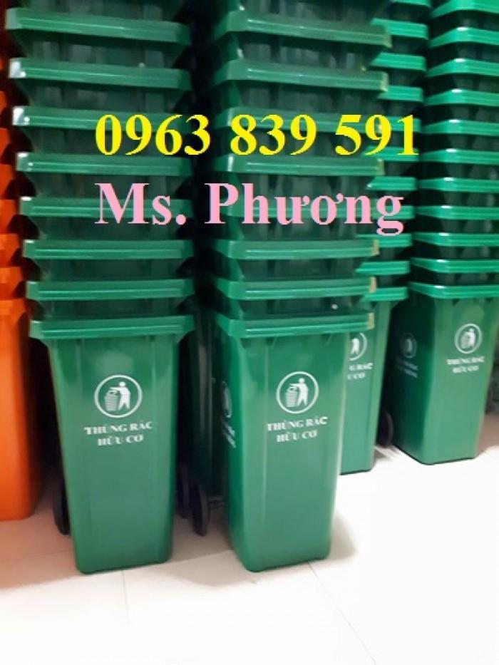 Thùng rác công nghiệp-thùng rác 120L-240L giá rẻ1