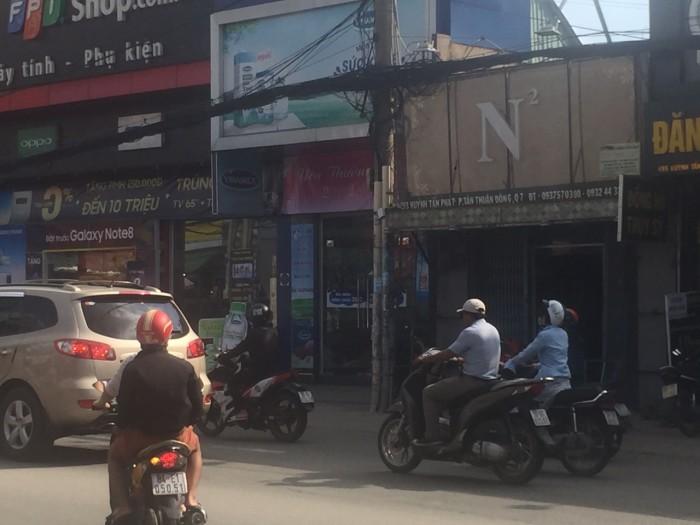 Bán gấp nhà mặt tiền Huỳnh Tấn Phát, Tân Thuận Đông,Quận 7,DT4x60m. Giá 16,5 tỷ