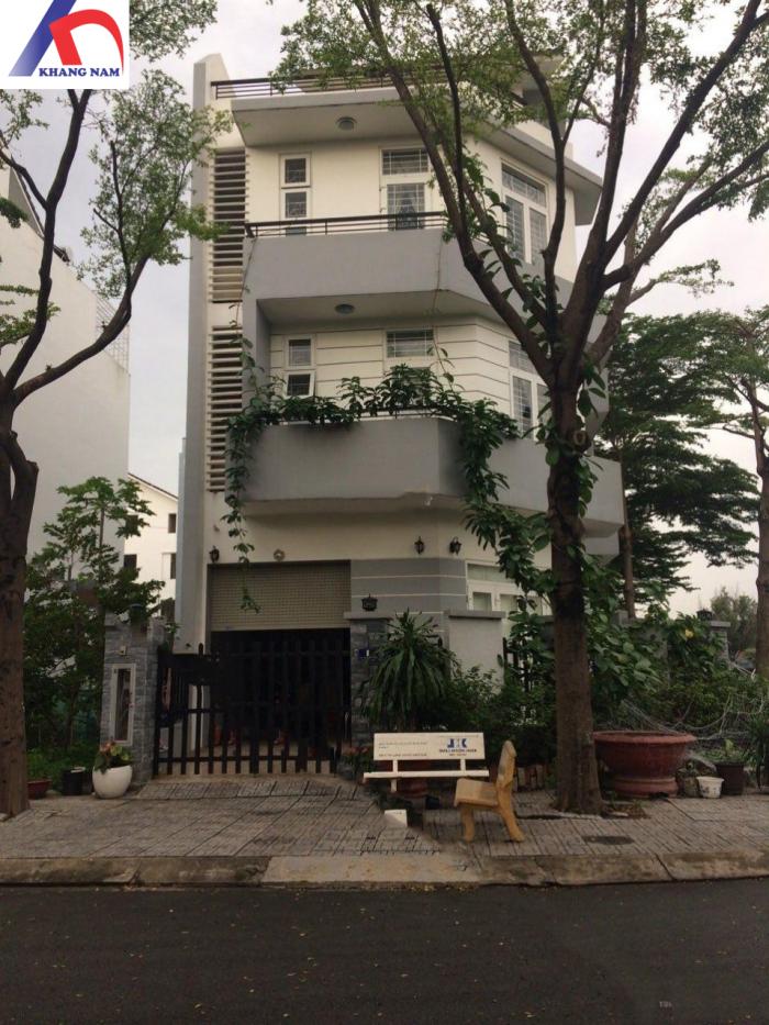 Cho thuê nhà MT KDC Nam Hòa - Đỗ Xuân Hợp, Q.9, DT: 5x20m, trệt, 2.5 lầu. Giá: 25tr/th