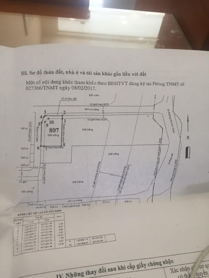 Bán đất thổ cư 132m sổ hồng riêng giá 2,66 tỷ
