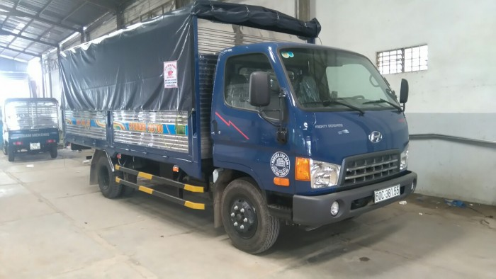 HD700 sản xuất năm 2017 Số tay (số sàn) Dầu diesel Hyundai