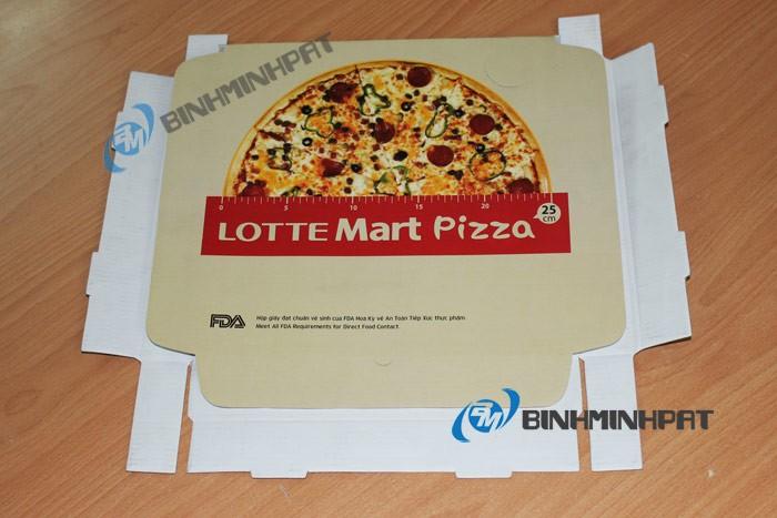 Mẫu hộp bánh pizza - do cty bao bì Bình Minh PAT sản xuất - đảm bảo chất lượng, an toàn thực phẩm - hinh 10