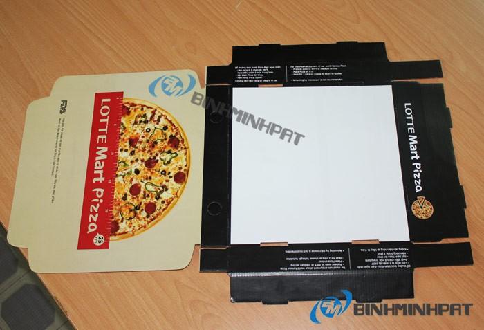 Mẫu hộp bánh pizza - do cty bao bì Bình Minh PAT sản xuất - đảm bảo chất lượng, an toàn thực phẩm - hinh 21