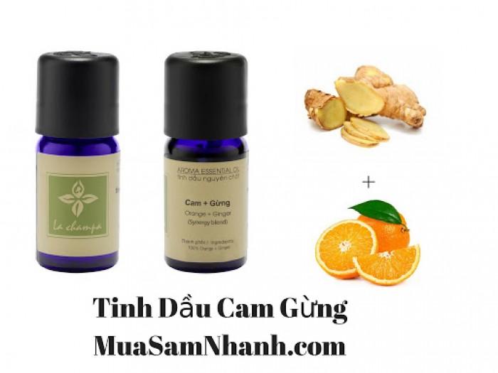 Tinh Dầu Hỗ Hợp Cam Gừng, Tinh Dầu Cam Gừng La champa  - MSN1812910