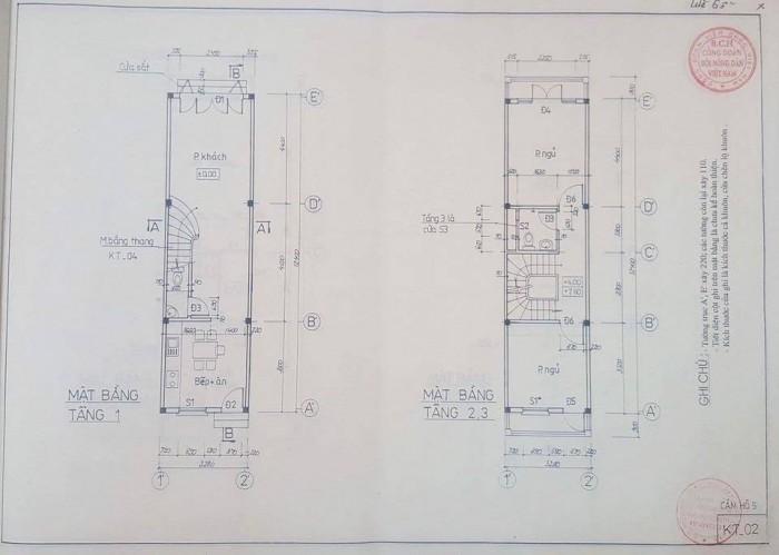 Nhà mặt phố Đông Quan – Cầu giấy  62 m2 x 5 tầng.