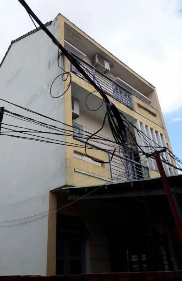 Bán Nhà hẻm 853 Quang Trung, phường 12, quận Gò Vấp, 6,4 x 11m, 1 Trệt + 2 Lầu, giá 3,55 tỷ