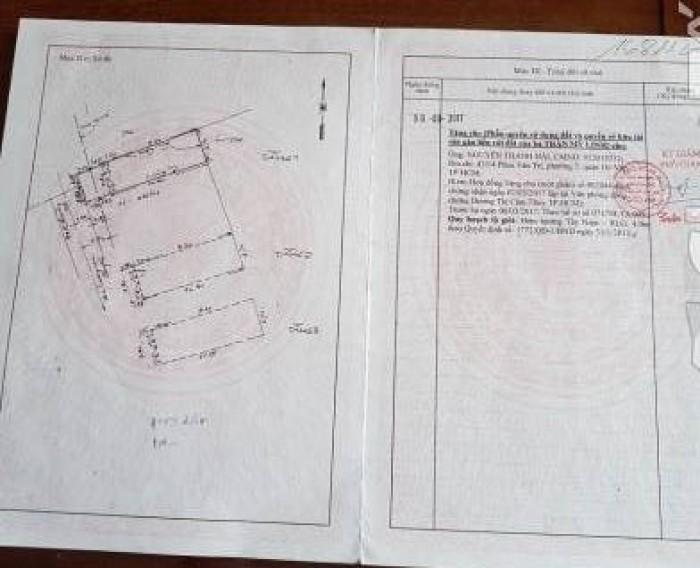 Bán Nhà hẻm 435 Phan Văn Trị, phường 5, quận Gò Vấp, 3,5 x 13m, 1 Trệt + 2 Lầu, giá 3,45 tỷ