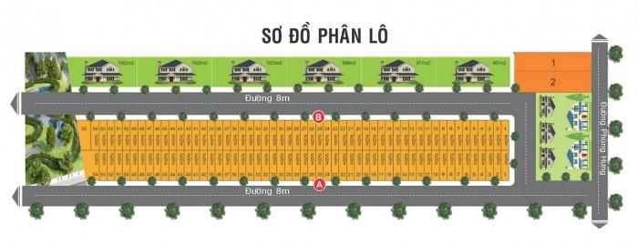 Bán đất mặt tiền Phùng Hưng sổ riêng, thổ cư 100%. Thanh toán chỉ 450 triệu/nền