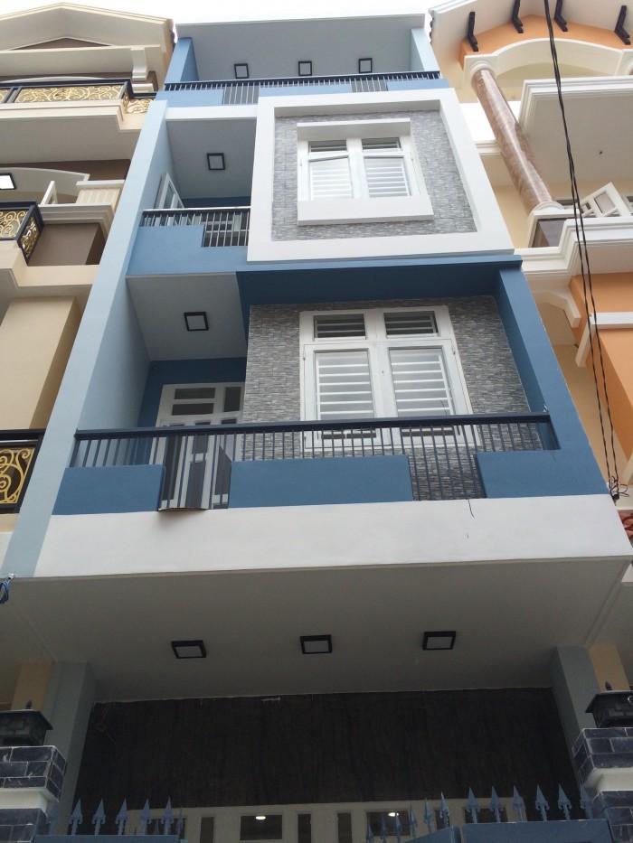 Bán nhà 4x15m, 4 tầng ngay coopmart Bình Triệu, cách cầu bình lợi 500m