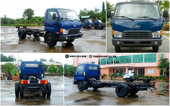 Xe tải Hyundai 6.7 tấn thùng lửng - HD99 0