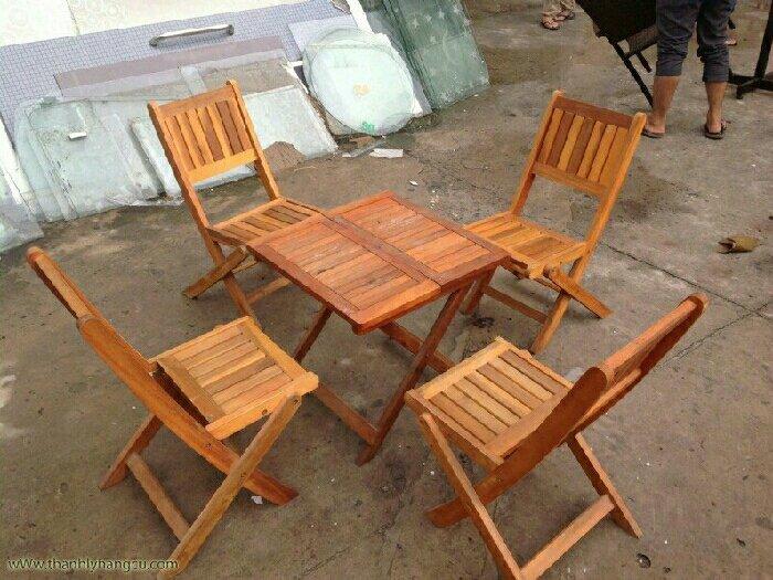 Ghế gỗ xếp giá rẻ0