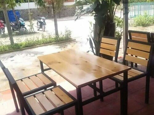 Ghế gỗ xếp giá rẻ4