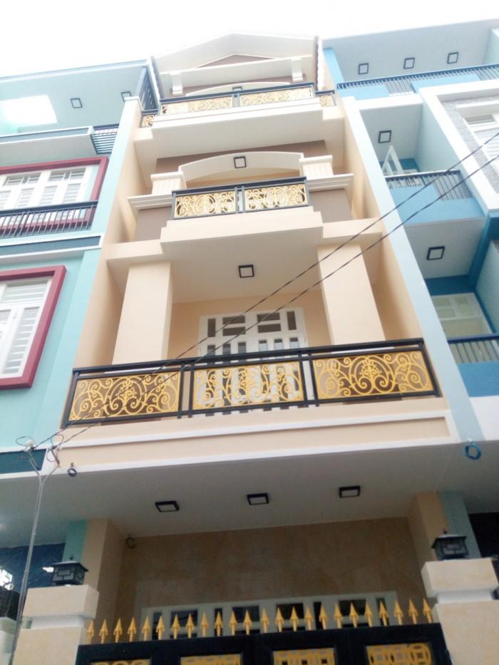 Bán nhà mới 94m2 đường số 6, cách ngã 4 Bình Triệu 300m.