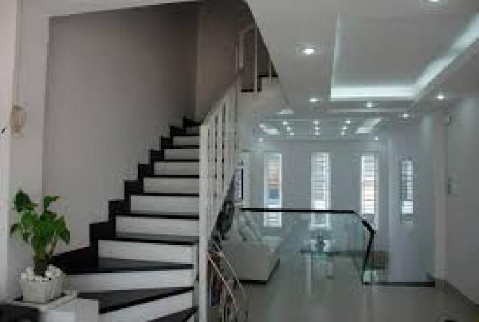 Cần tiền bán nhanh nhà đẹp 3 lầu, đường Gò Ô Môi, Phú Thuận, Quận 7,DT 4x18m. Giá 5,2 tỷ