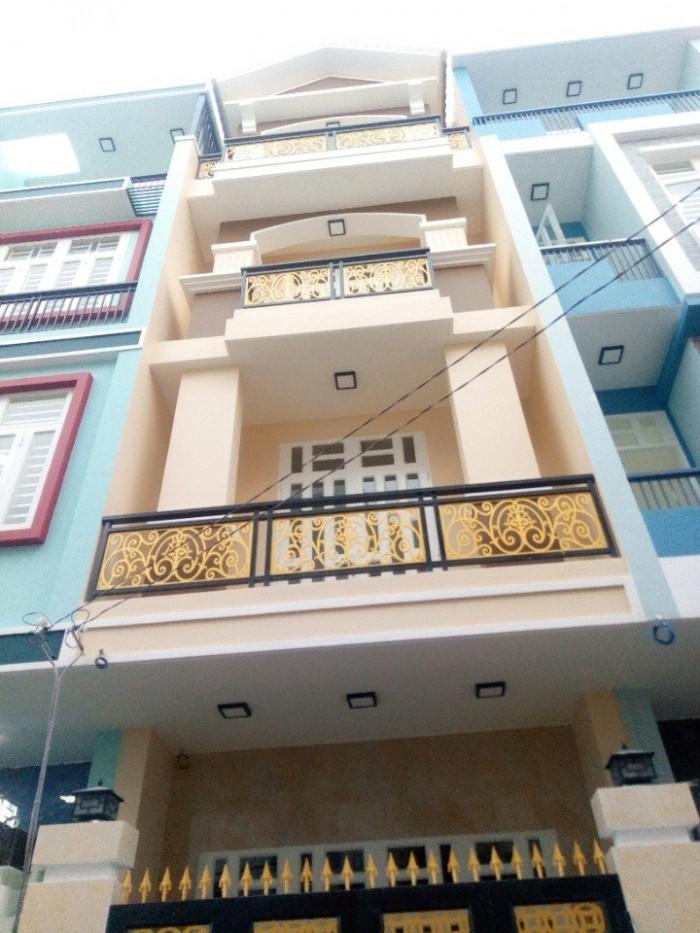 Nhà 1 trệt 2 lầu đường 12 chợ Bình Triệu, dt 4x14 có sân xe hơi, HBC, TĐức