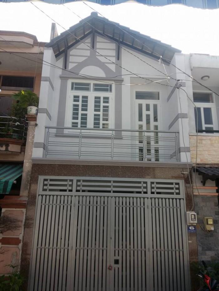 Nhà Mặt Tiền đường số 16A quận Bình Tân