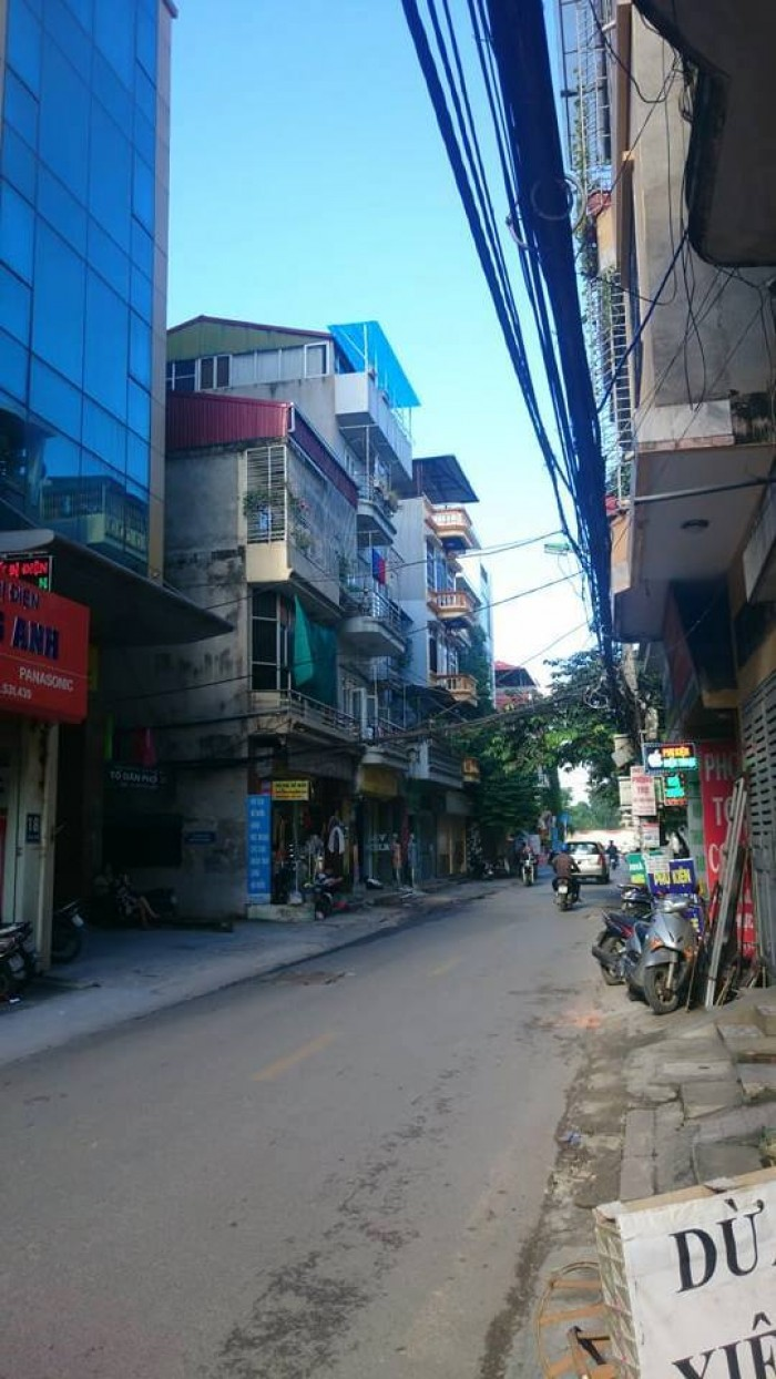 Bán nhà mặt Phố Trần Điền, Thanh Xuân Hà Nội, 36m2 5 tầng mặt tiền 4,05m