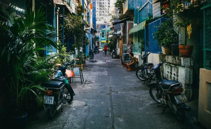 Nhà nguyên căn 4*20 hẻm xe hơi đường Quang Trung
