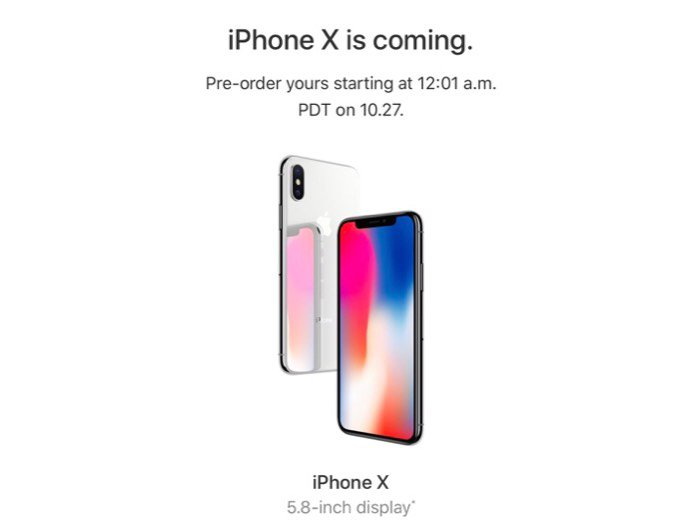 IPhone ( X ) 256 GB . Hàng Order xách tay Mỹ về 6-8/11/2017