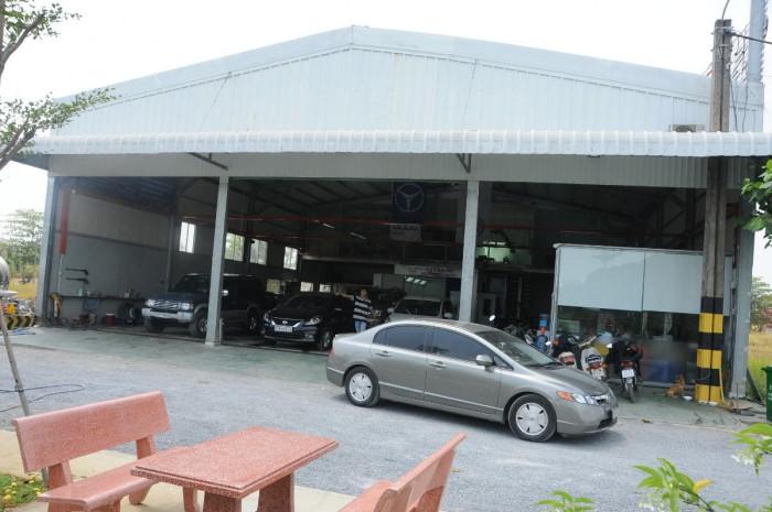 Cho thuê xưởng gara ô tô đường Lê Hữu Kiều, Q.2, DT: 500m2