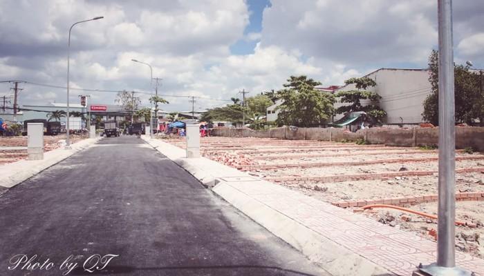 Đất nền mặt tiền đường Tân Kỳ Tân Quý, lộ giới 30m.